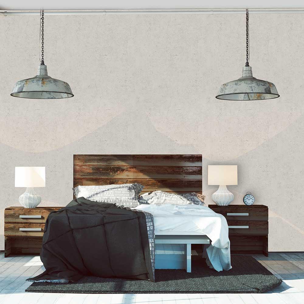 Concrete Wallpaper - White - by Metropolitan Stories
