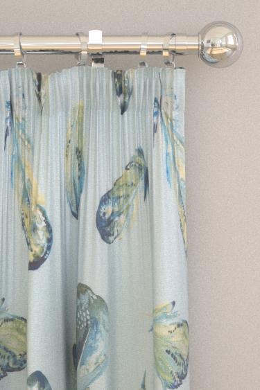 iliv Plume Lagoon Curtains - Product code: CRBL/PLUMELAG