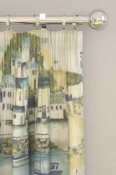 iliv Seaside Lagoon Curtains - Product code: CRBL/SEASILAG