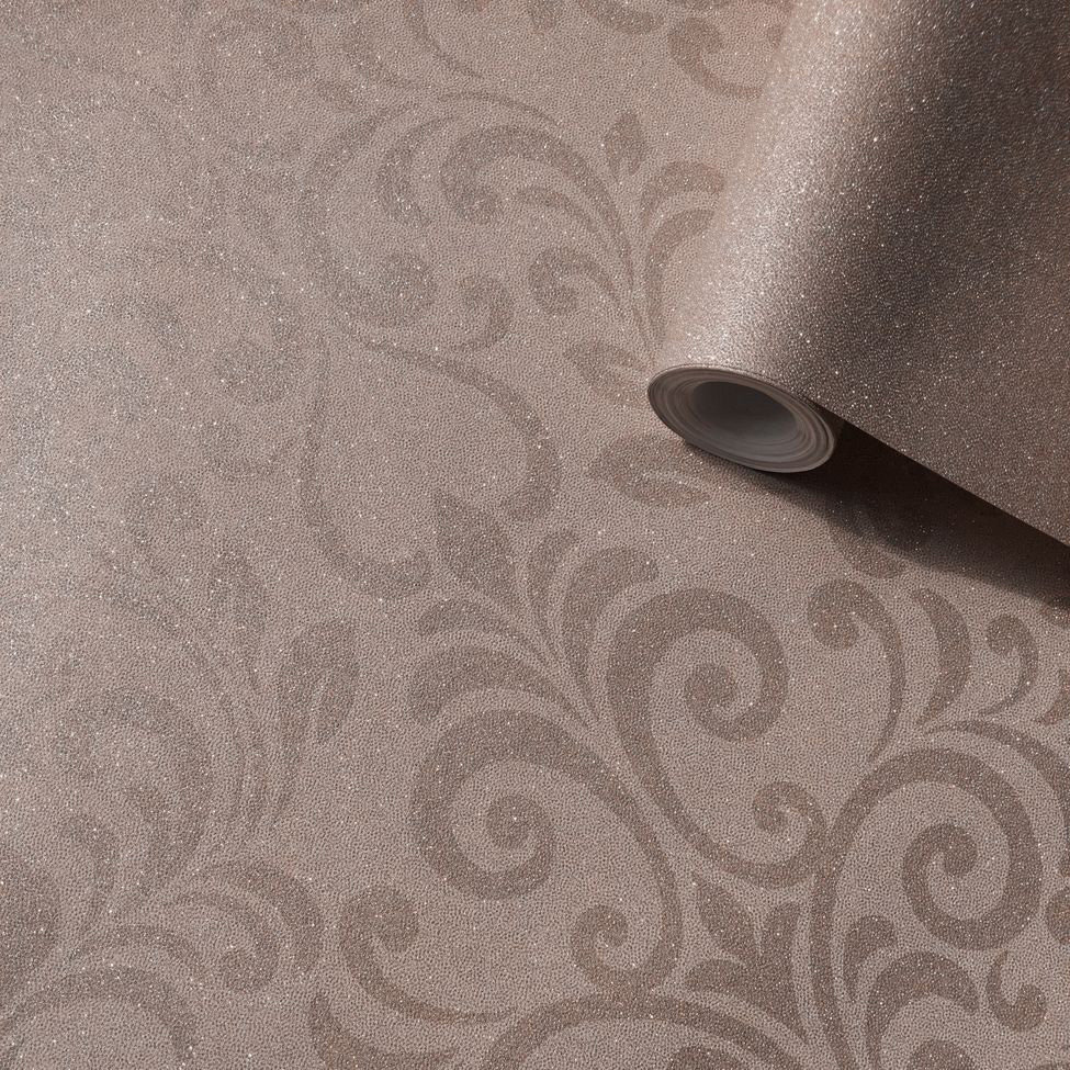 Lipsy London Luxe Damask Rose Gold Wallpaper - Product code: 144803