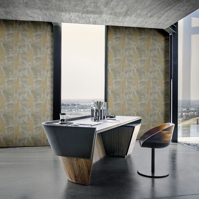 Lamborghini Murcielago Stripe Grey / Bronze Wallpaper - Product code: Z44814