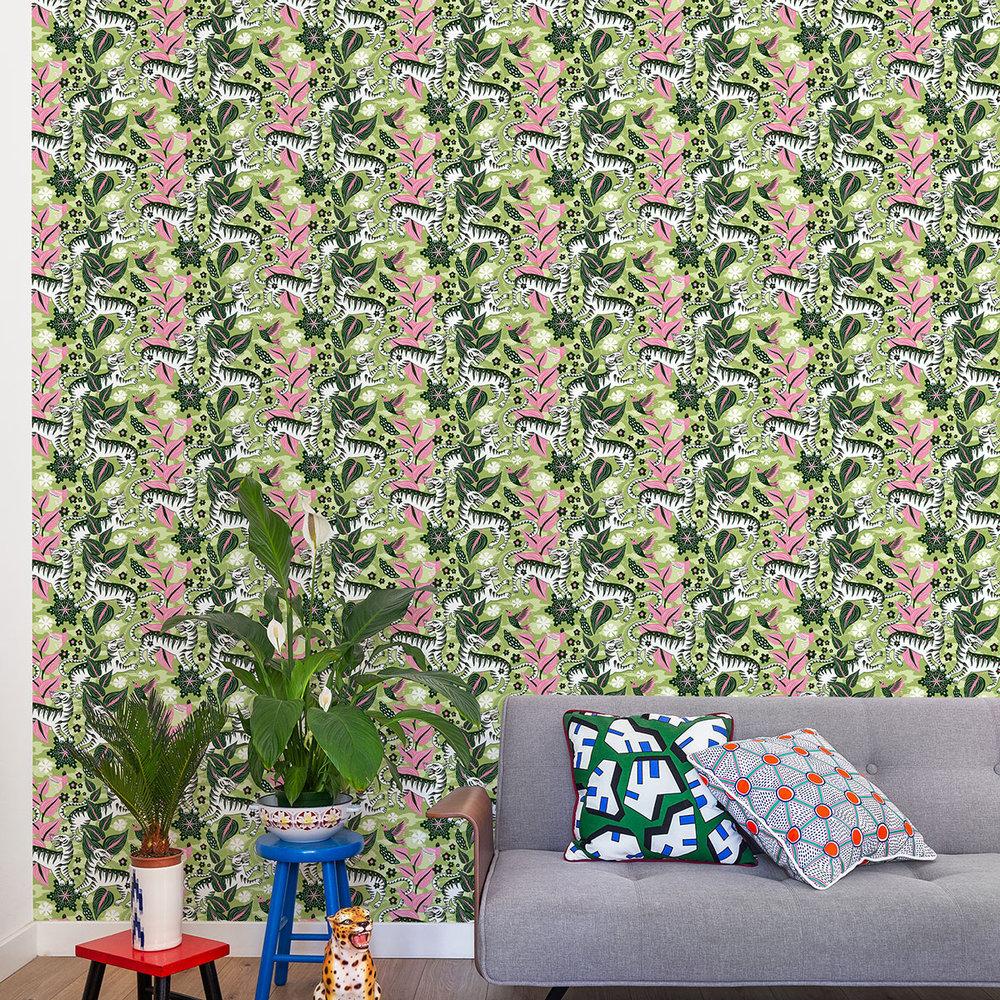 Coordonne Selva de Tigres Morning Wallpaper - Product code: 8000016