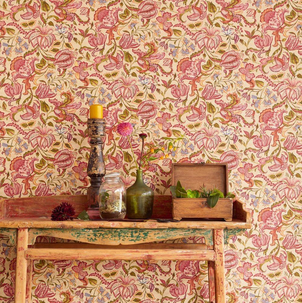 Eijffinger Sundari Trail Gold Wallpaper - Product code: 375102