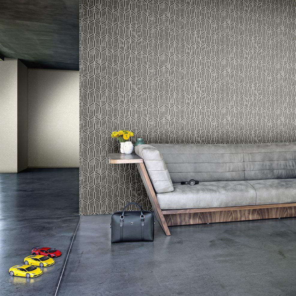 Huracan Feature Wallpaper - Charcoal - by Lamborghini