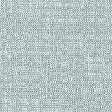 Boråstapeter Linen Plain Topaz Blue Wallpaper - Product code: 4427