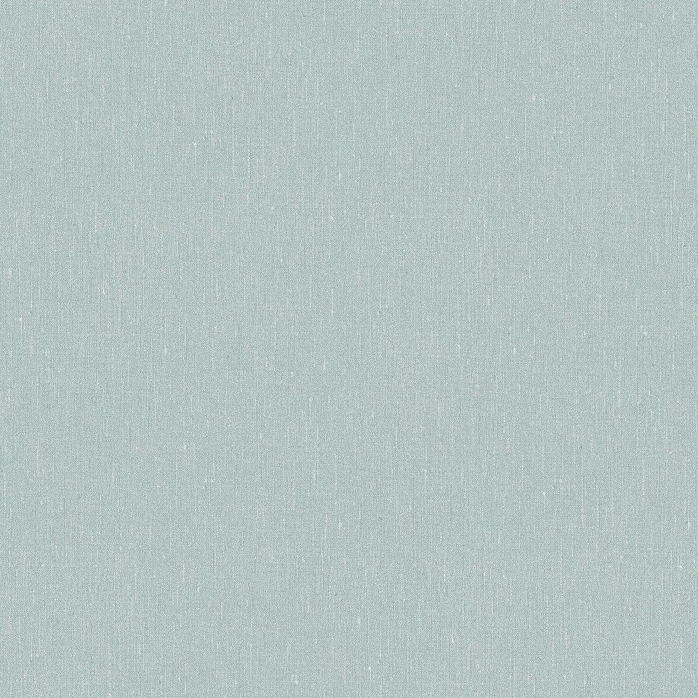 Boråstapeter Linen Plain Topaz Blue Wallpaper - Product code: 4427
