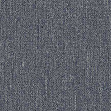 Boråstapeter Linen Plain Night Blue Wallpaper - Product code: 4431