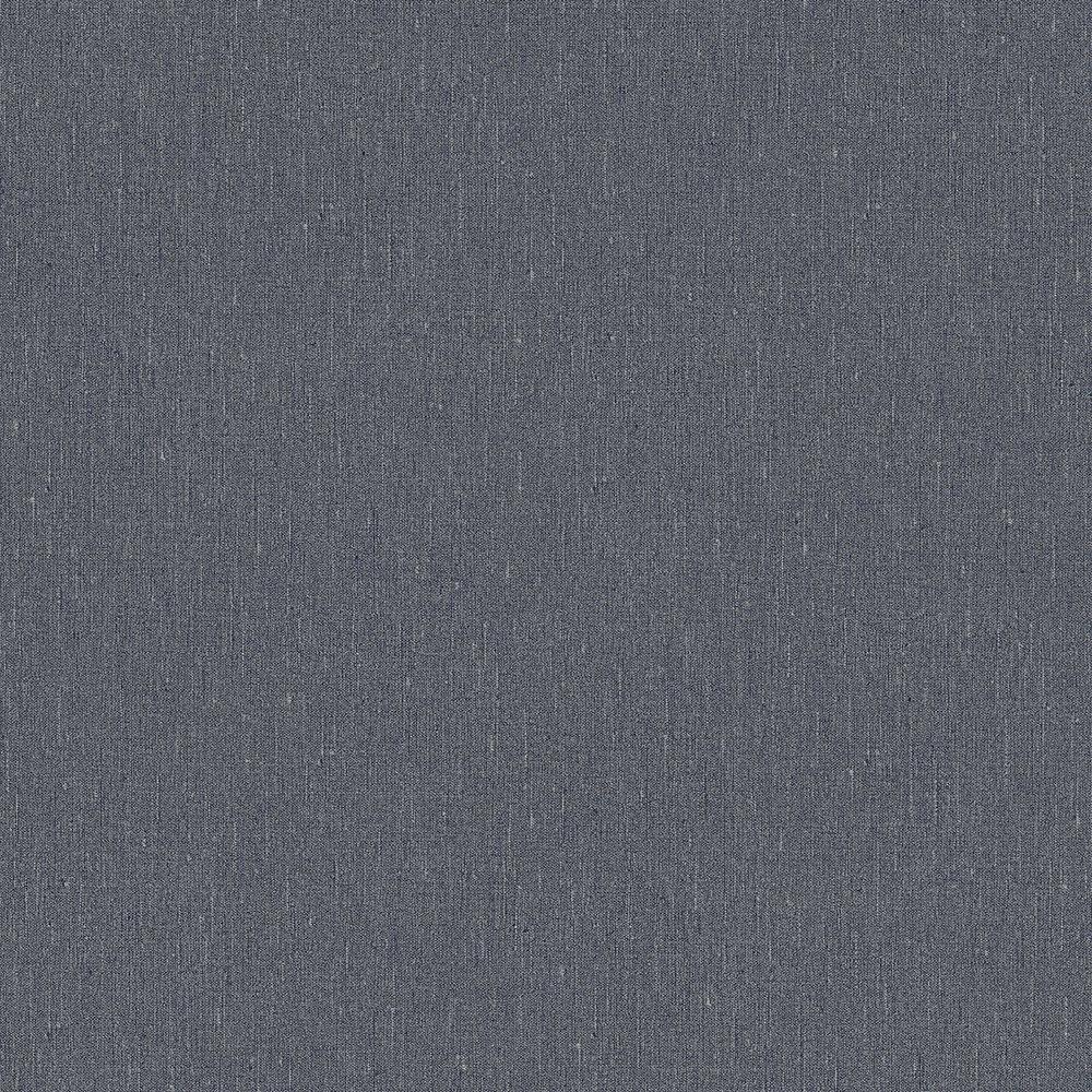 Boråstapeter Linen Plain Night Blue Wallpaper - Product code: 4431