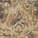 Eijffinger Sundari Damask Black Wallpaper