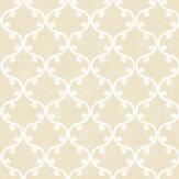 SK Filson Scroll Geometric Gold Wallpaper - Product code: DE41827