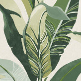Eijffinger Jungle Palm Green Wallpaper - Product code: 384500
