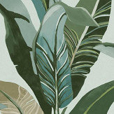 Eijffinger Jungle Palm Aqua Wallpaper - Product code: 384502