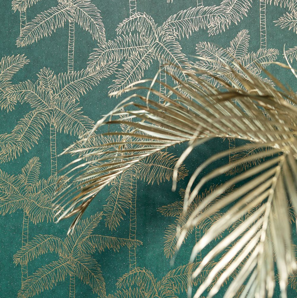 Eijffinger Palm Tree Green Wallpaper - Product code: 384513