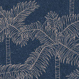Eijffinger Palm Tree Navy Wallpaper - Product code: 384514