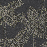 Eijffinger Palm Tree Black Wallpaper - Product code: 384515