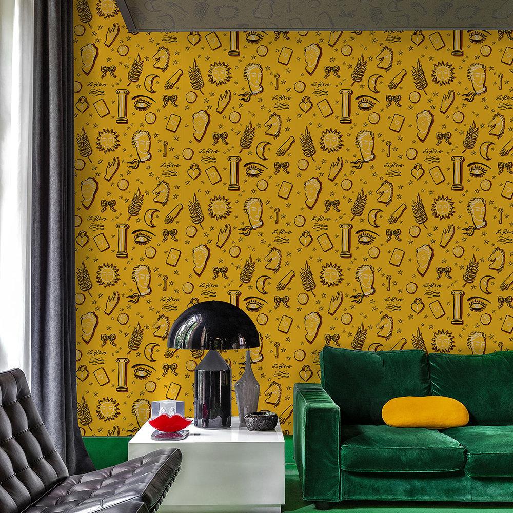 La Reve Wallpaper - Soleil - by Coordonne