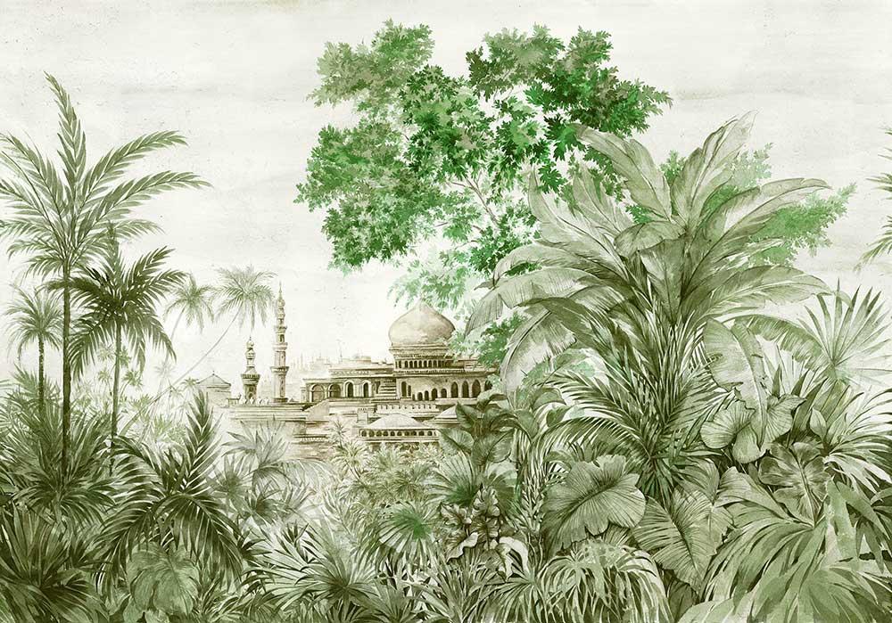 Coordonne Taj Mahal Aloe Mural - Product code: 7900121