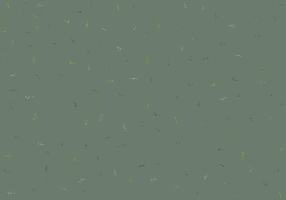 Coordonne Algae Tropical Mural - Product code: 8000019