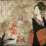 Coordonne Geisha Graffiti Hikari Mural