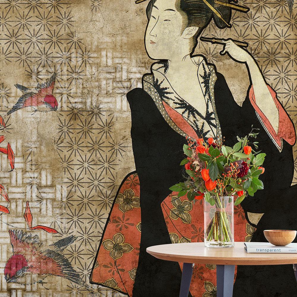 Coordonne Geisha Graffiti Hikari Mural - Product code: 8000036