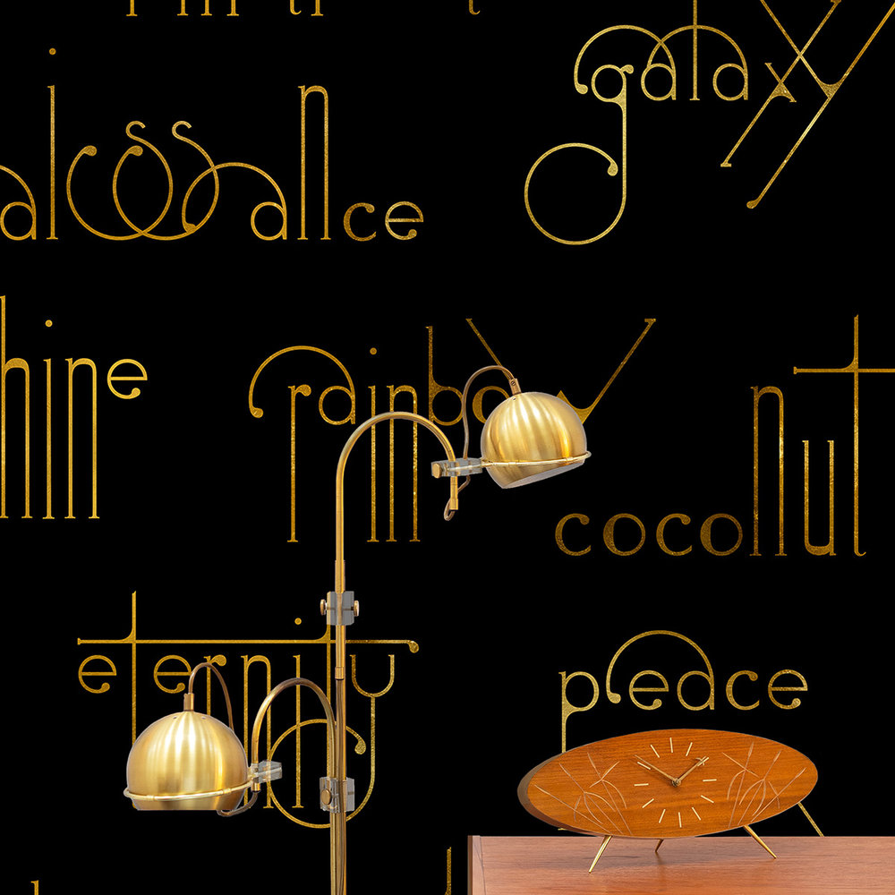 Coordonne Beautiful Words Onyx Mural - Product code: 8000038