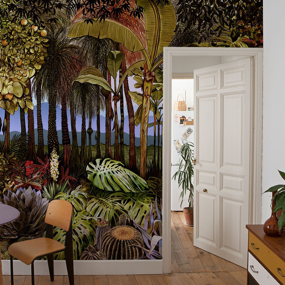 Botanico Mural - Manana - by Coordonne