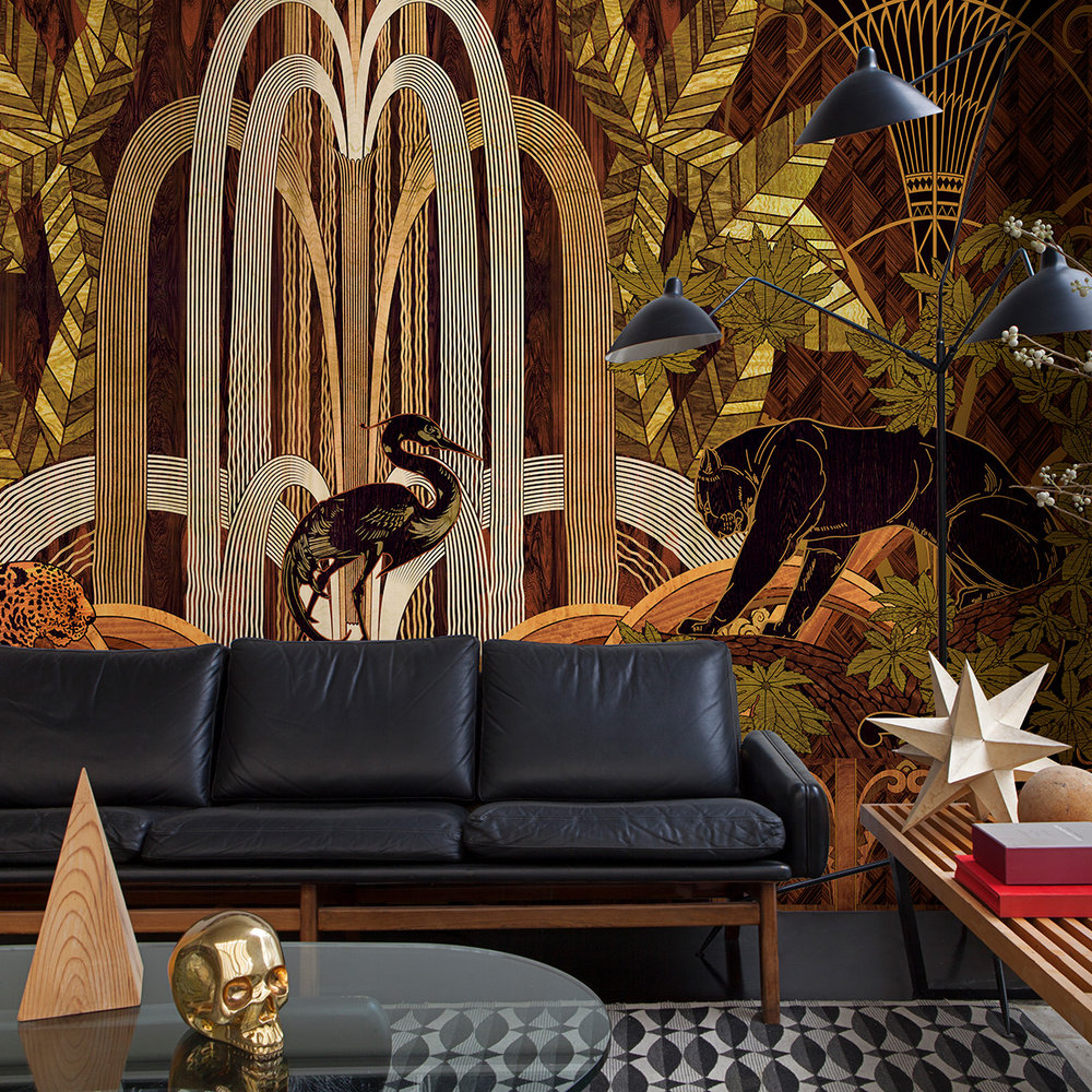 Coordonne Rue Babylone Woodland Mural - Product code: 8000053