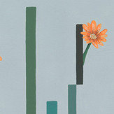 Coordonne Flor de Cactus Dia (Day) Mural - Product code: 8000054