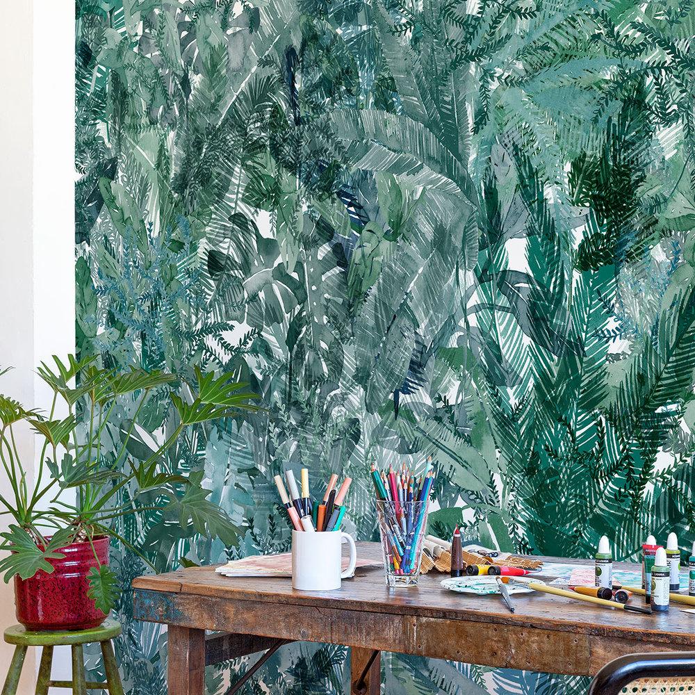 Coordonne Jungle Dream Bahia (Bay) Mural - Product code: 8000056