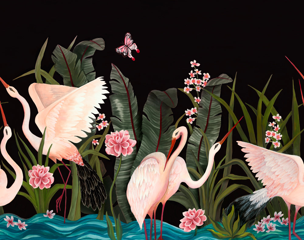 Coordonne Wetlands Night Call Mural - Product code: 8000058