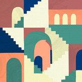 Coordonne Architopie Vivid Mural