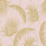 SK Filson Oasis Leaves Pink Wallpaper - Product code: SK20018