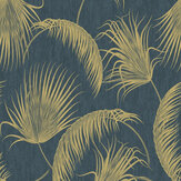 SK Filson Oasis Leaves Blue Wallpaper - Product code: SK20019