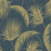 SK Filson Oasis Leaves Blue Wallpaper - Product code: SK20019