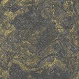 SK Filson Infused Marble Black / Gold Wallpaper