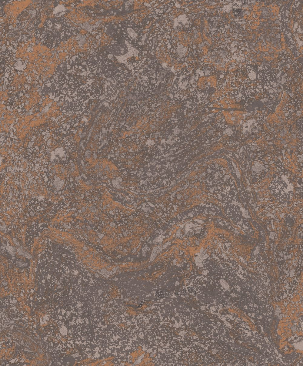 SK Filson Infused Marble Black / Copper Wallpaper - Product code: SK20031