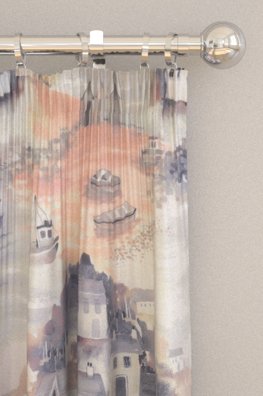 iliv Seaside Coral Curtains - Product code: CRBL/SEASICOR