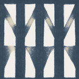 Sandberg Shibori Navy Wallpaper - Product code: 233-76