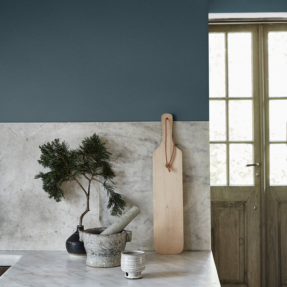 Washi Wallpaper - Teal - by Sandberg