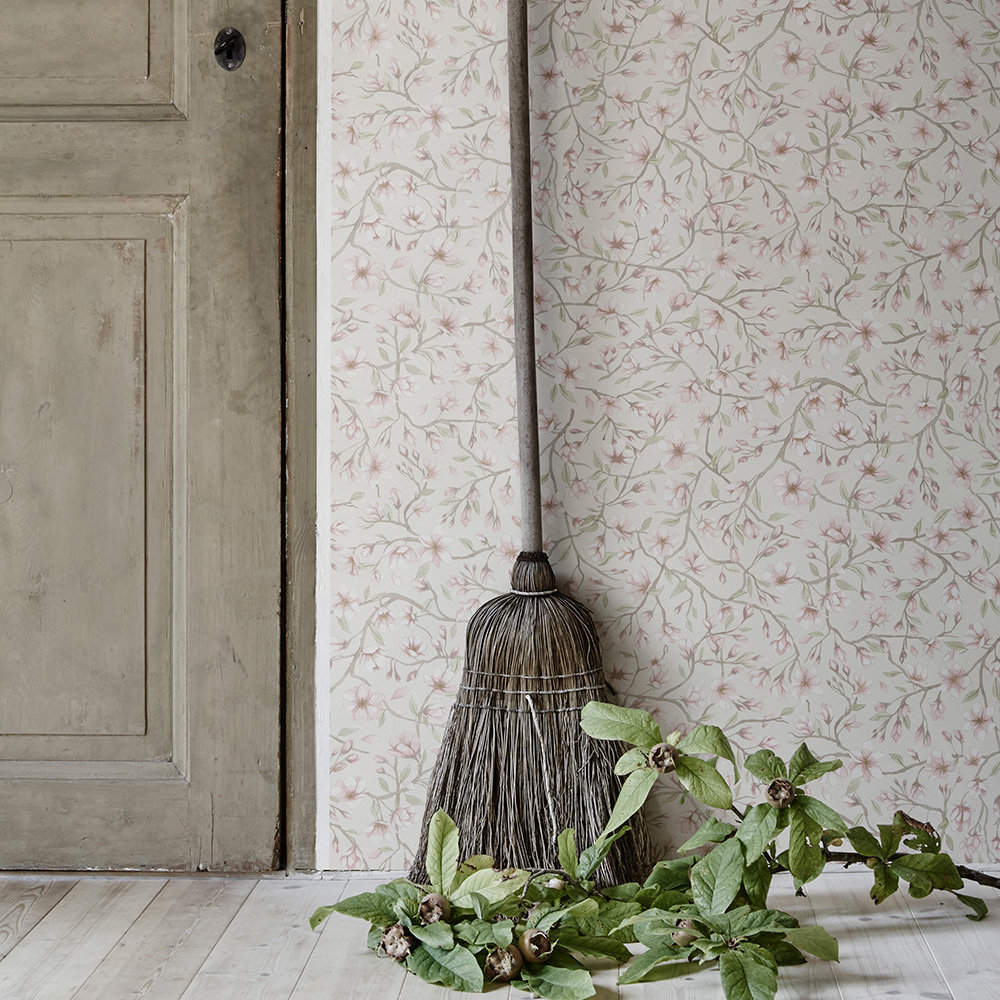 Sakura Wallpaper - Cream - by Sandberg