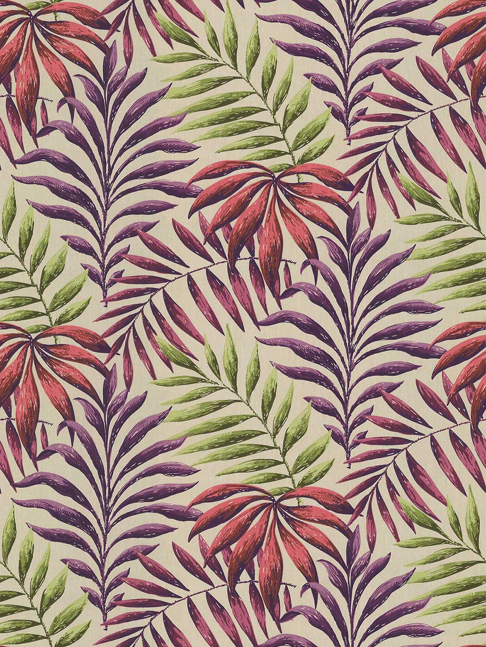 Manila Fabric - Cranberry - by iliv