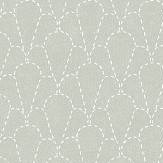 Sandberg Sashiko Green Wallpaper - Product code: 237-18