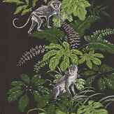 iliv Monkeying Around Zinc Fabric - Product code: CRAU/MONKEZIN