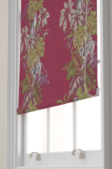 iliv Monkeying Around Cranberry Blind - Product code: CRAU/MONKECRA
