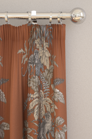 iliv Monkeying Around Henna Curtains - Product code: CRAU/MONKEHEN