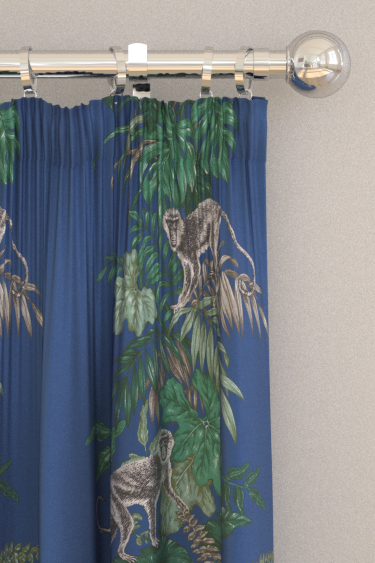 iliv Monkeying Around Marine Curtains - Product code: CRAU/MONKEMAR