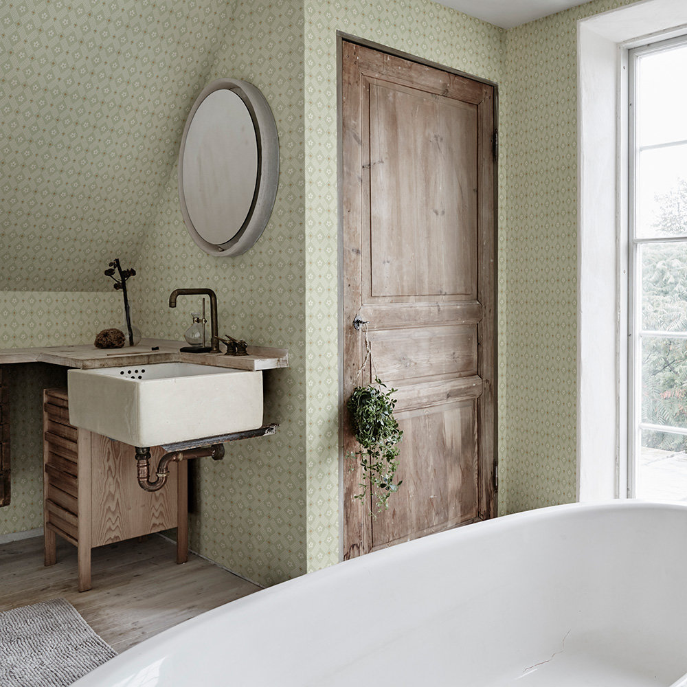 Sandberg Kimono Green Wallpaper - Product code: 238-38