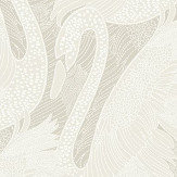 Albany Odette Swan Pearl Wallpaper - Product code: 151101