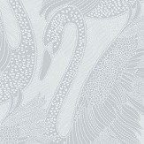 Albany Odette Swan Silver Wallpaper - Product code: 151102
