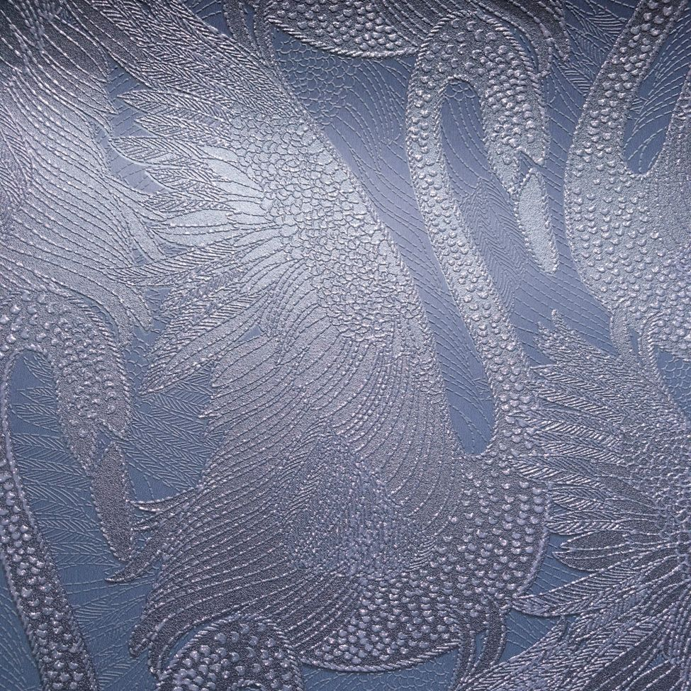 Albany Odette Swan Sapphire Wallpaper - Product code: 151103